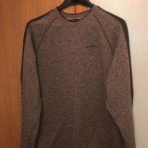 Eddie Bauer Men's XL-Tall Gray Crewneck Sweater
